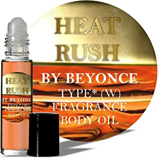 Heat Rush by Beyonce Type* Body Oil Inspired Fragrance Perfume Women Parfume