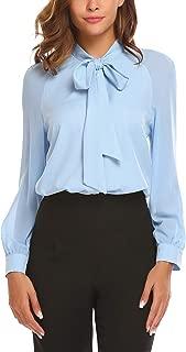 Best women's button-front crepe blouses Reviews