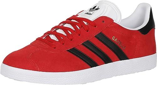 Adidas Gazelle pour homme, Rouge (Écarlate/noir/blanc), 46 EU ...