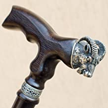 Stylish Walking Cane for Men - Aries - Fancy Men's Wooden Canes and Walking Sticks Fashionable