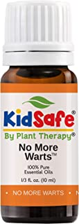 Plant Therapy No More Warts Essential Oil Blend 100% Pure, KidSafe, Undiluted, Natural Aromatherapy, Therapeutic Grade 10 mL (1/3 oz)