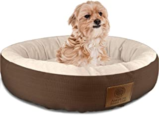 American Kennel Club Casablanca Solid Round Pet Bed