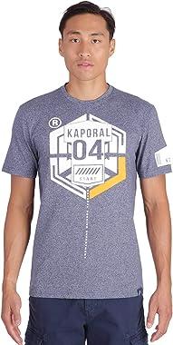 Kaporal - T-Shirt à Manches Courtes - Gras - Homme