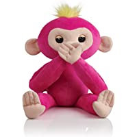 Fingerlings HUGS Advanced Interactive Plush Baby Monkey Pet