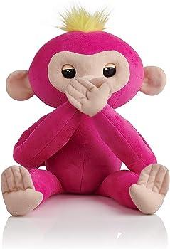 Fingerlings HUGS Advanced Interactive Plush Baby Monkey Pet