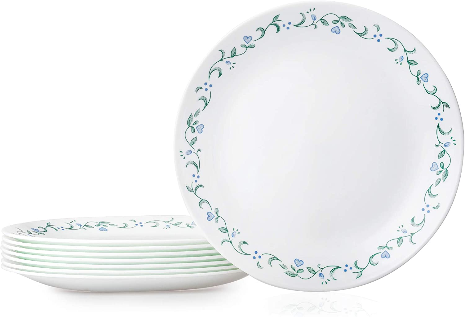 Corelle Country Cottage Max 73% OFF 40% OFF Cheap Sale Plates 8-Piece Dinner