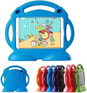 Lioeo Apple iPad Mini Case for Kids with Handle Durable Lightweight Shockproof Kids Proof Protective Cases for Apple iPad Mini 4 3 2 1 7.9 inch NOT for ipad 2 3 4 or ipad Air (Blue)