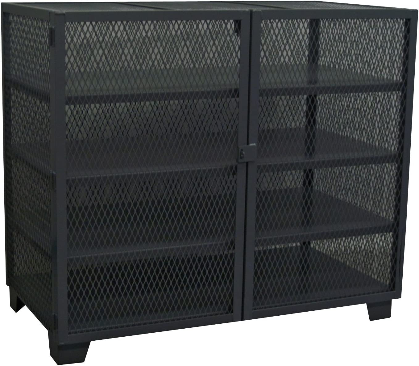 Jamco Products Limited price sale Inc MD448-BL Stationary Cabinet Mesh 36 Security Denver Mall