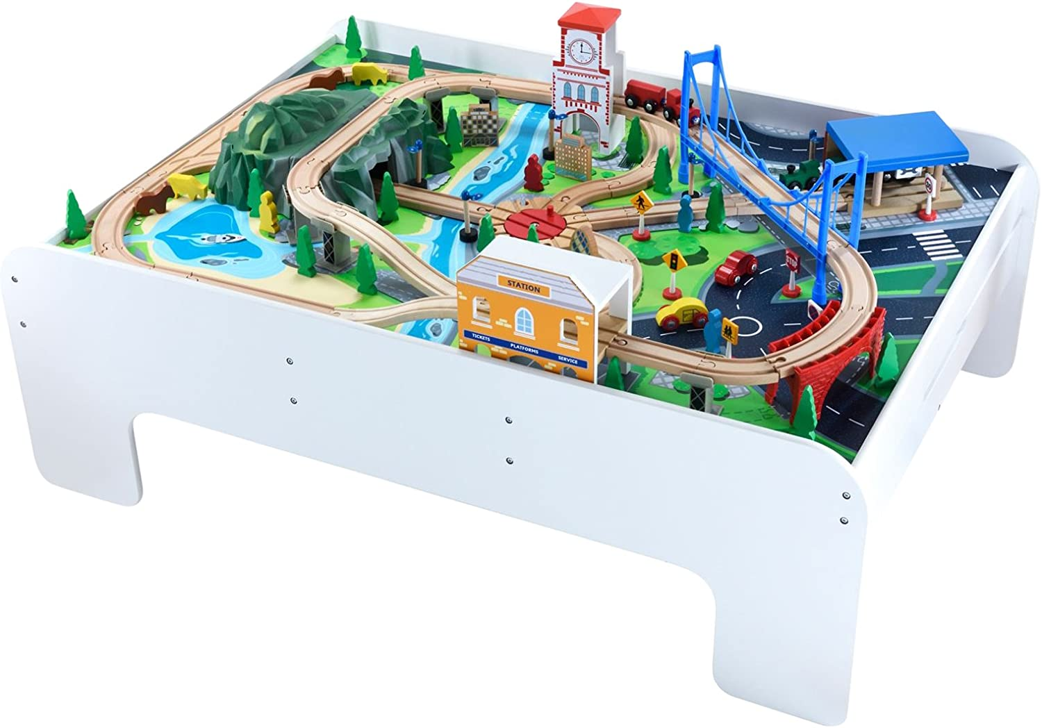 Early Learning Centre Figurines (Wooden Train Table)
