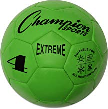 Champion Sports Extreme Series Composite Soccer Ball: Sizes 3, 4, 5 in Multiple Colors