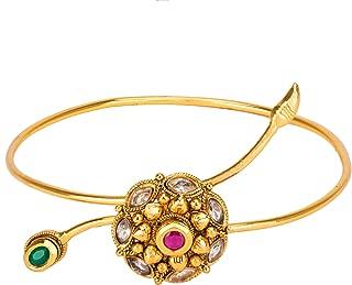 ADIVA Haath Hand Jewellery Baaju Band Copper Adjustable Bajuband for Women
