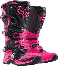 2018 Fox Racing Womens Comp 5 Boots-Black/Pink-6