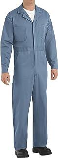 Red Kap mens Red Kap® Men's Button-Front Cotton Coverall Button Front Cotton Coverall