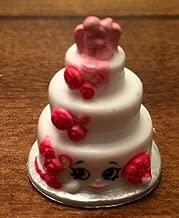 Shopkins Season 3 #3-008 White Wendy Wedding Cake (Rare)