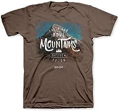 Faith Can Move Mountains Christian T-Shirt