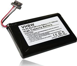 vhbw Accu vervanging voor SJM120, BPLP720/11-A1 B voor navigatiesysteem GPS (1200mAh, 3,7V)