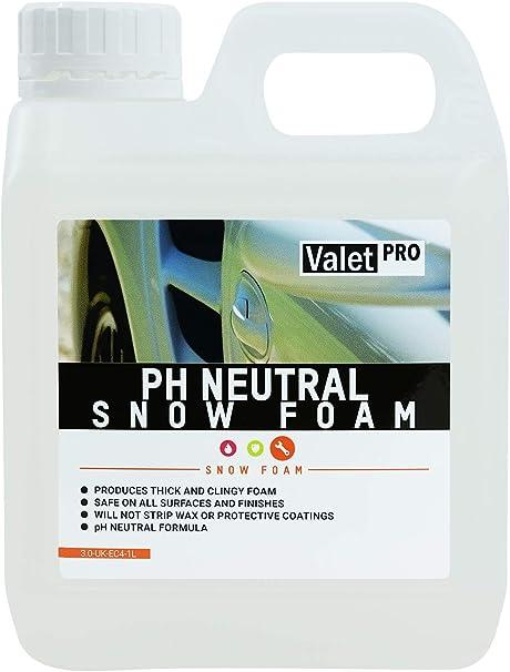 Valet Pro Ph Neutral Snow Foam 1 Litre Auto