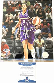 Candace Parker Autographed Signed 8x10 Photo BAS Beckett Los Angeles Sparks Autographed Signed