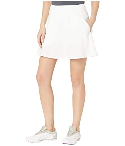 PUMA Golf PWRSHAPE Solid Woven Skirt (Bright White) Women