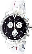 $3450 Aqua Master Steel Band 1.75ct 37mm Round Diamonds Watch