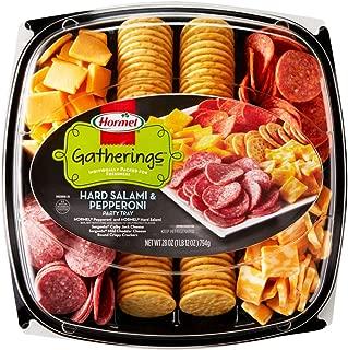 Hormel Gatherings, Hard Salami & Pepperoni Party Tray, 28 oz