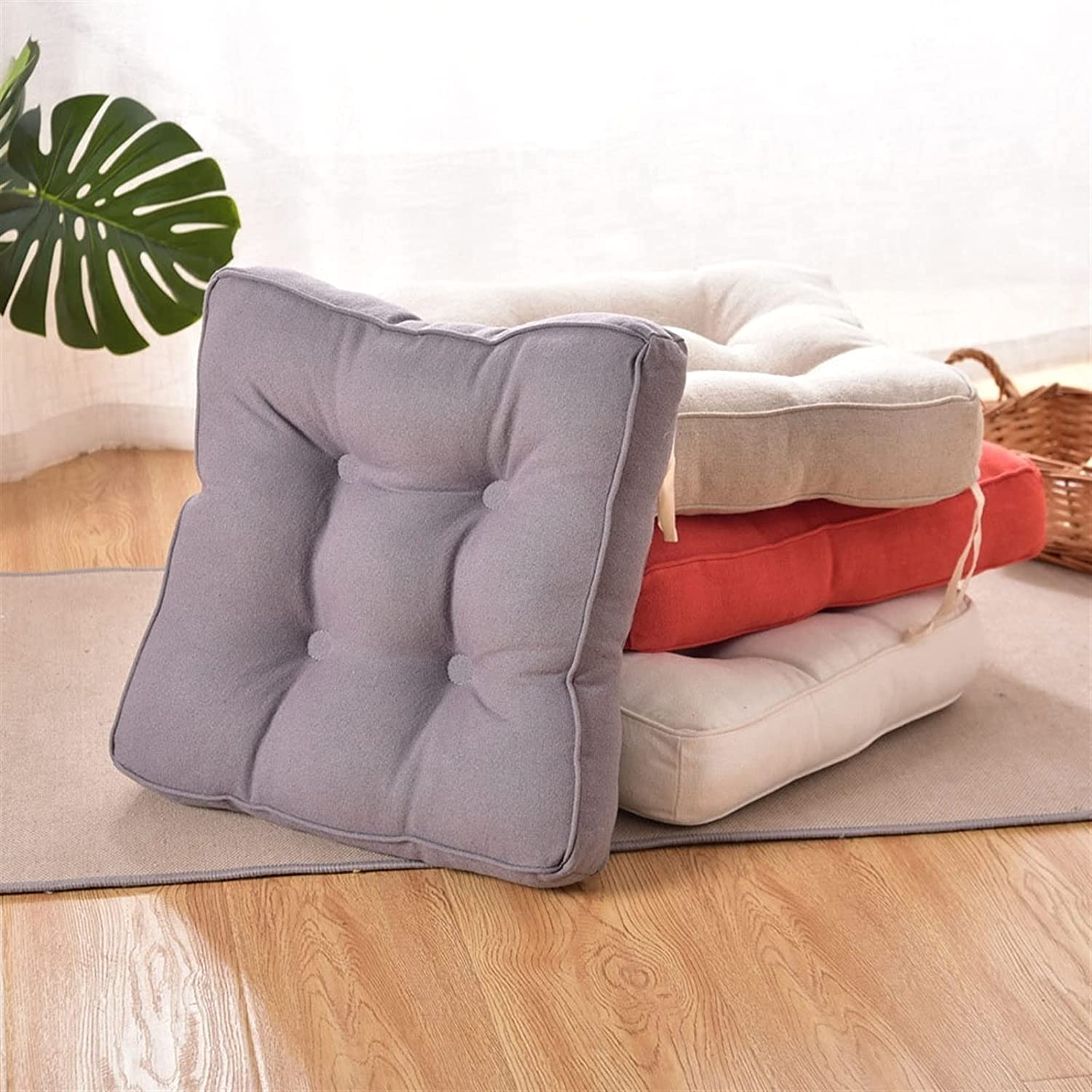 Outdoor Oakland Mall Garden Cushion 1PCS 40cm Square Back Seat Pad wit Chair Max 74% OFF