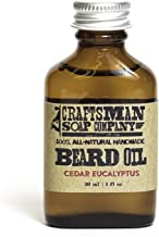 beard oil flask
