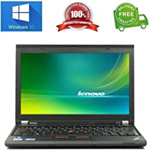 "Lenovo ThinkPad X230 Intel i5 2600 MHz 320Gig Serial ATA HDD 4096MB DDR3 NO OPTICAL DRIVE Wireless WI-FI 12.0"" WideScreen LCD Genuine Windows 7 Professional 32 Bit Laptop Notebook Computer"