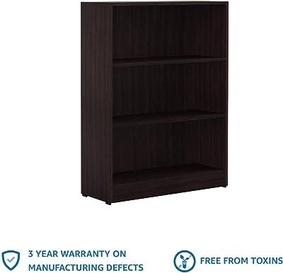 Amazon Brand - Solimo Mason Engineered Wood Bookcase (Wenge)