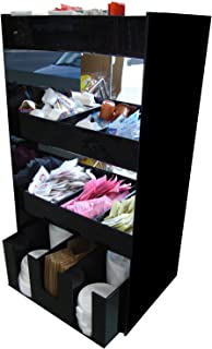 Coffee Condiment Organizer and Lid Dispenser or Caddy for Condiment Packets (3008)