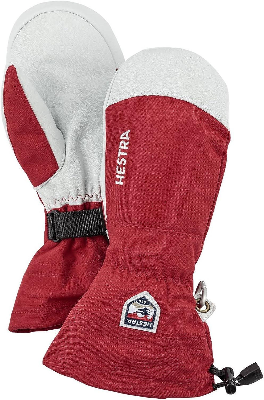 Hestra Gloves 30571 trust Army Leather Heli Red Mitt Ski 11 - List price