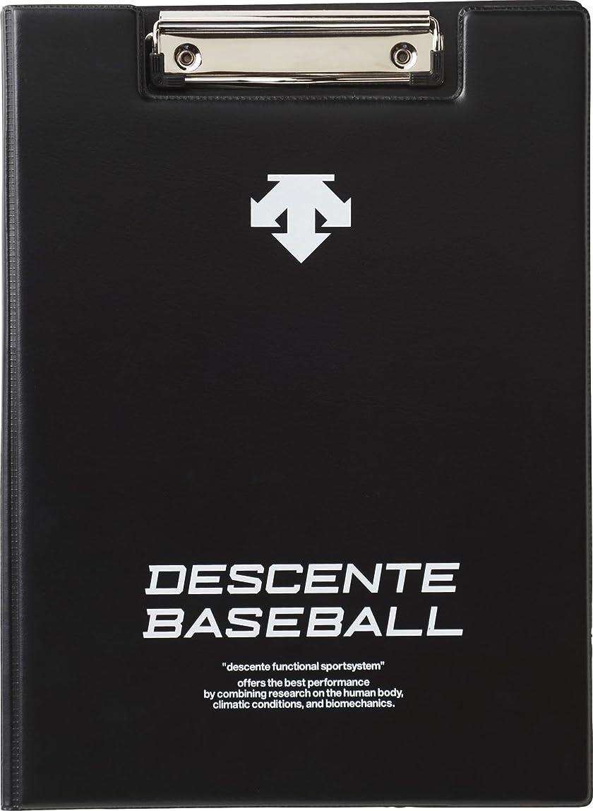 シェア惨めな正当なDESCENTE(デサント) 野球 作戦盤 フォーメーションボード ブラック FREEサイズ C1011B
