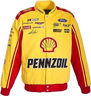 Joey Logano Pennzoil NASCAR Jacket Size 2XLarge