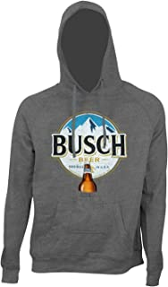 Round Logo Beer Pouch Hoodie