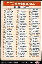 1956 topps checklist