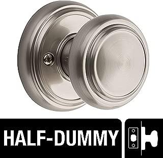 Baldwin Prestige Alcott Half-Dummy Knob in Satin Nickel