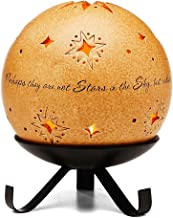 Comfort Candles in Memory by Pavilion Includes Tea Light Candle and Stand, 6-1/2-Inch, Star Pierced Round