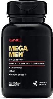 GNC Mega Men Multivitamin 90 Caplets