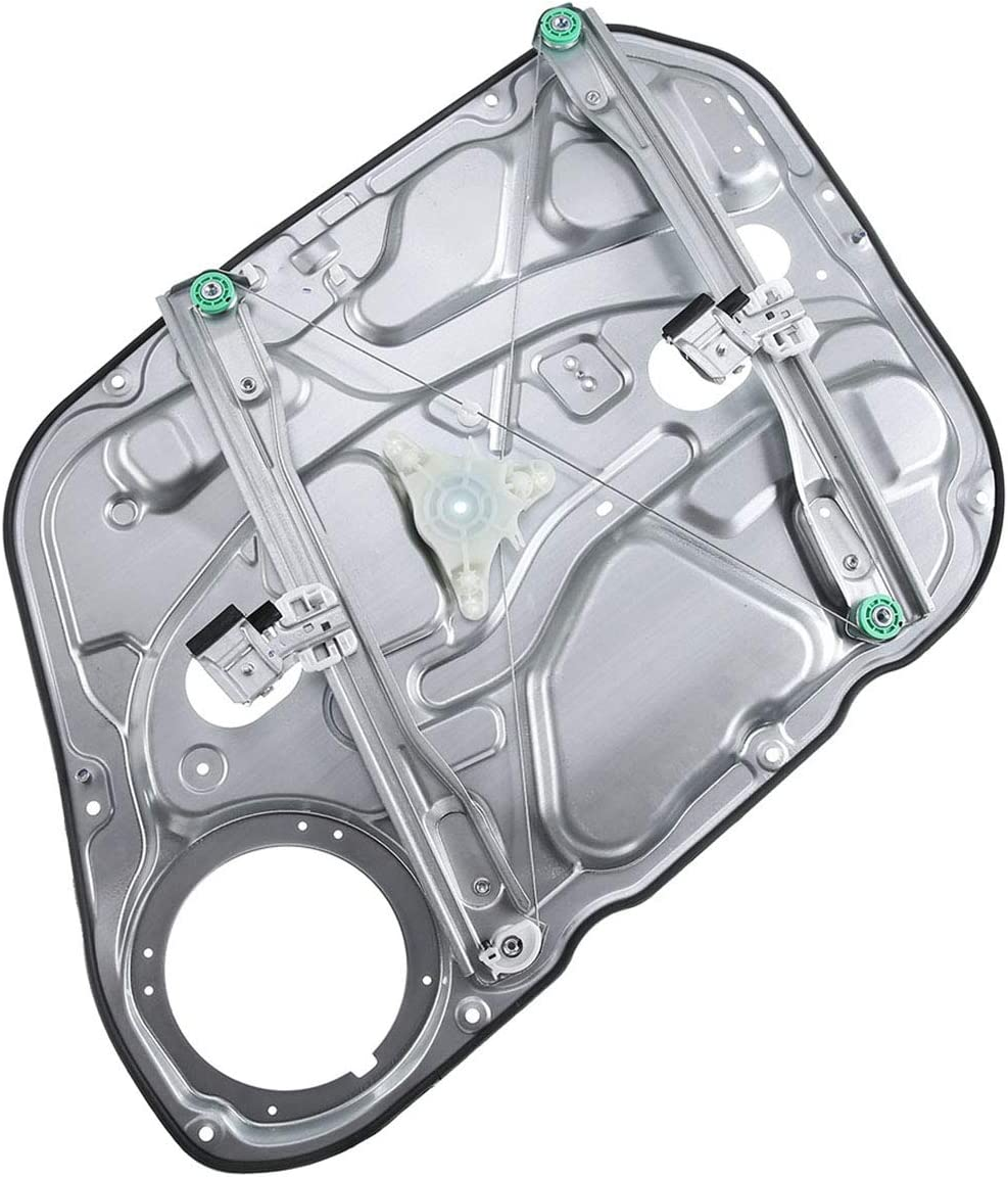 Front Right Passenger Side Power Window Regulator Without Motor Compatible with 2009-2012 Hyundai Elantra Hatchback