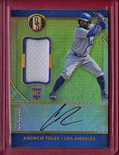 2017 Panini Gold Standard #37 Andrew Toles AU JSY 199 RC - Rookie Year