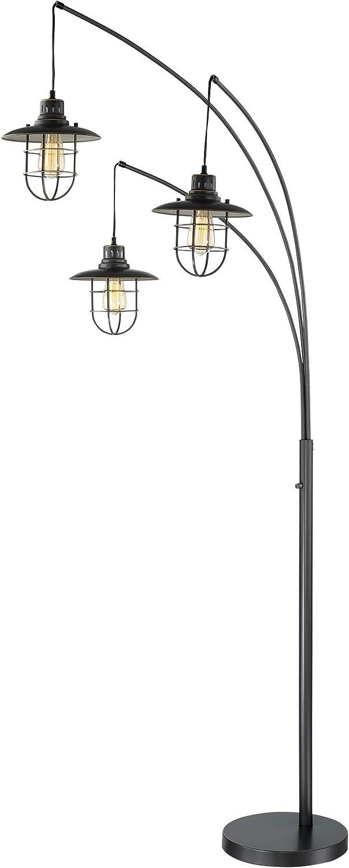 Lite Source Lanterna Max 54% OFF II Dark Bronze 3-Light Arc Indefinitely Floor Lamp