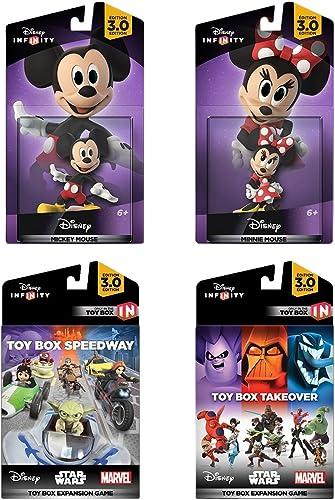 Disney Infinity 3.0 édition   MICKEY ET MINNIE Jeu EXPANSION PAQUET - Amazon exclusif