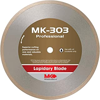MK Diamond 153692 MK-303 Professional 6-Inch Diameter Lapidary Blade by .020-Inch wide by 5/8-Inch Arbor