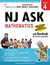 NJ ASK Practice Tests and Online Workbooks: Grade 4 Mathematics, Third Edition: Common Core State Standards Aligned