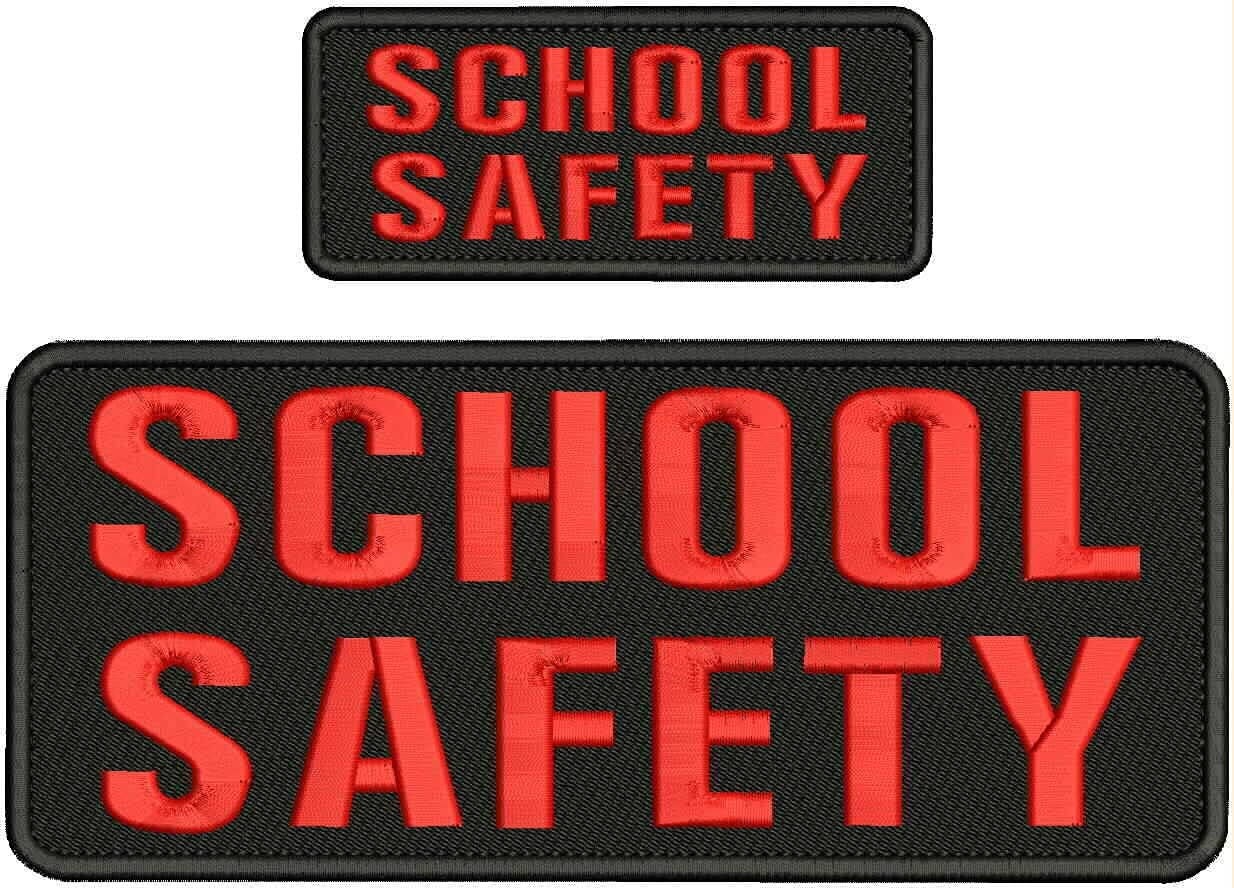 Embroidered Patch Outlet SALE - quality assurance Patches for School Safety Man Women