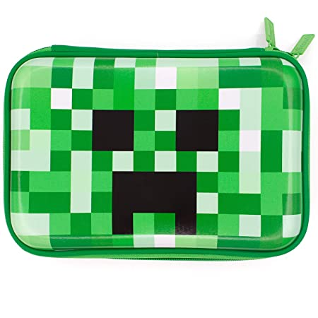 Estuche grande con compartimentos – Organizador de suministros escolares Cool Pencil Box para niños – Personalizado para niños niños – Bolsa para bolígrafos para niños (verde)