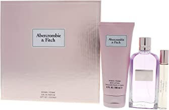 Abercrombie & Fitch First Instinct By Abercrombie & Fitch for Women - 3 Pc Gift Set 3.4oz Edp Spray, 0.5oz Edp Spray, 6.7oz Body Lotion, 3count