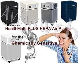 Austin Air Healthmate Plus Air Purifier – for The Chemically Sensitive B450B1, Standard, Black