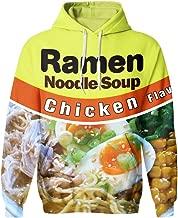 SAYM Unisex Galaxy Pockets 3D Pullover Hoodie Hooded Sweatshirts Hoodies