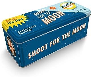 Moonpie 'Shoot For The Moon' Collector's Baker's Dozen Mini Moonpie Tin Assorted Flavors (Strawberry/Banana)